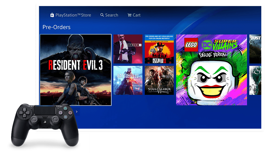 Playstation Store Old